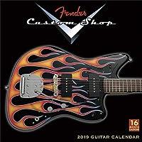 Close Up Fender Custom Shop 2019 Calendar