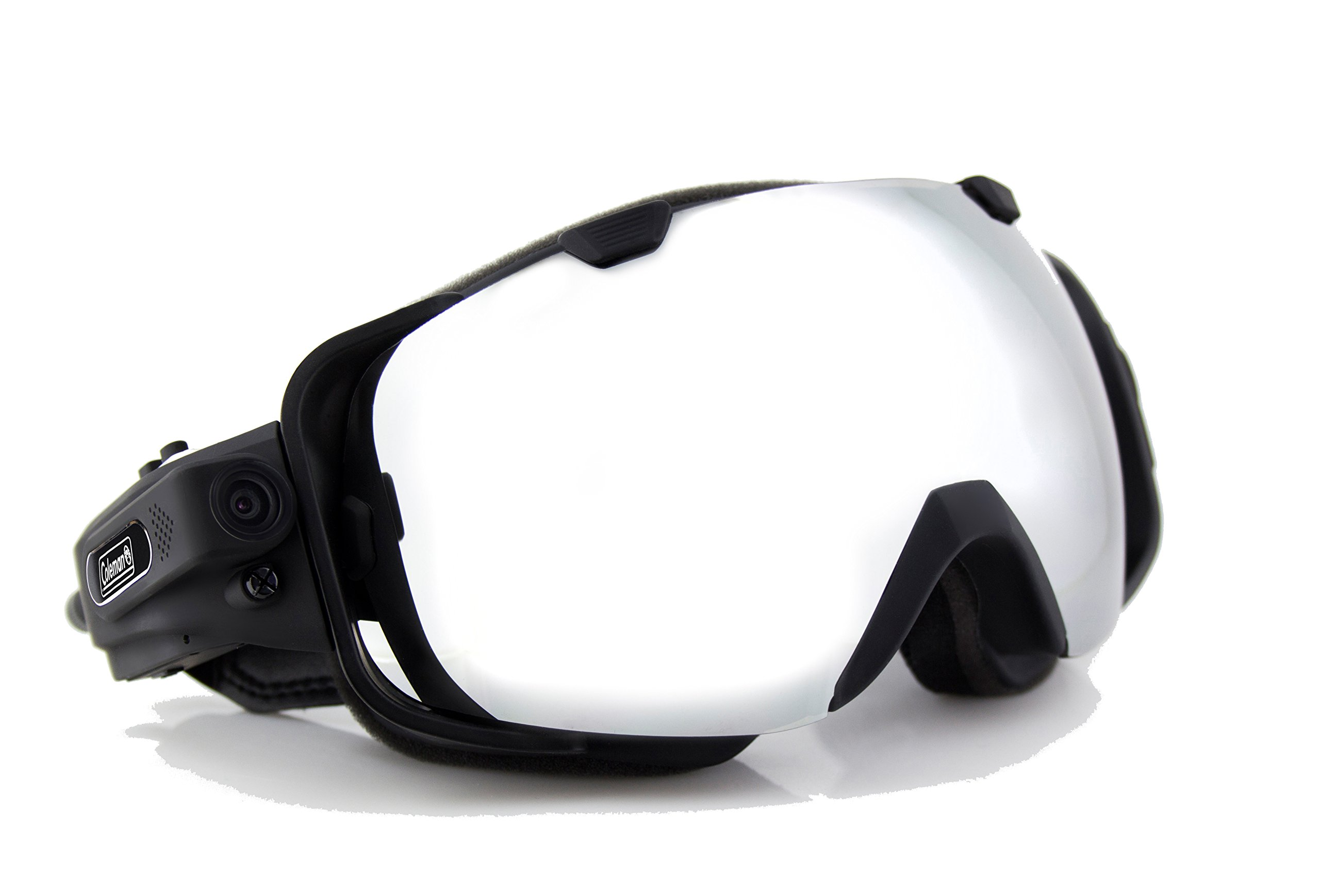 Coleman G9HD-SKI VisionHD 1080p Full HD Ski Goggles with Built-In Wide Angle Video Camera (Black) by Coleman