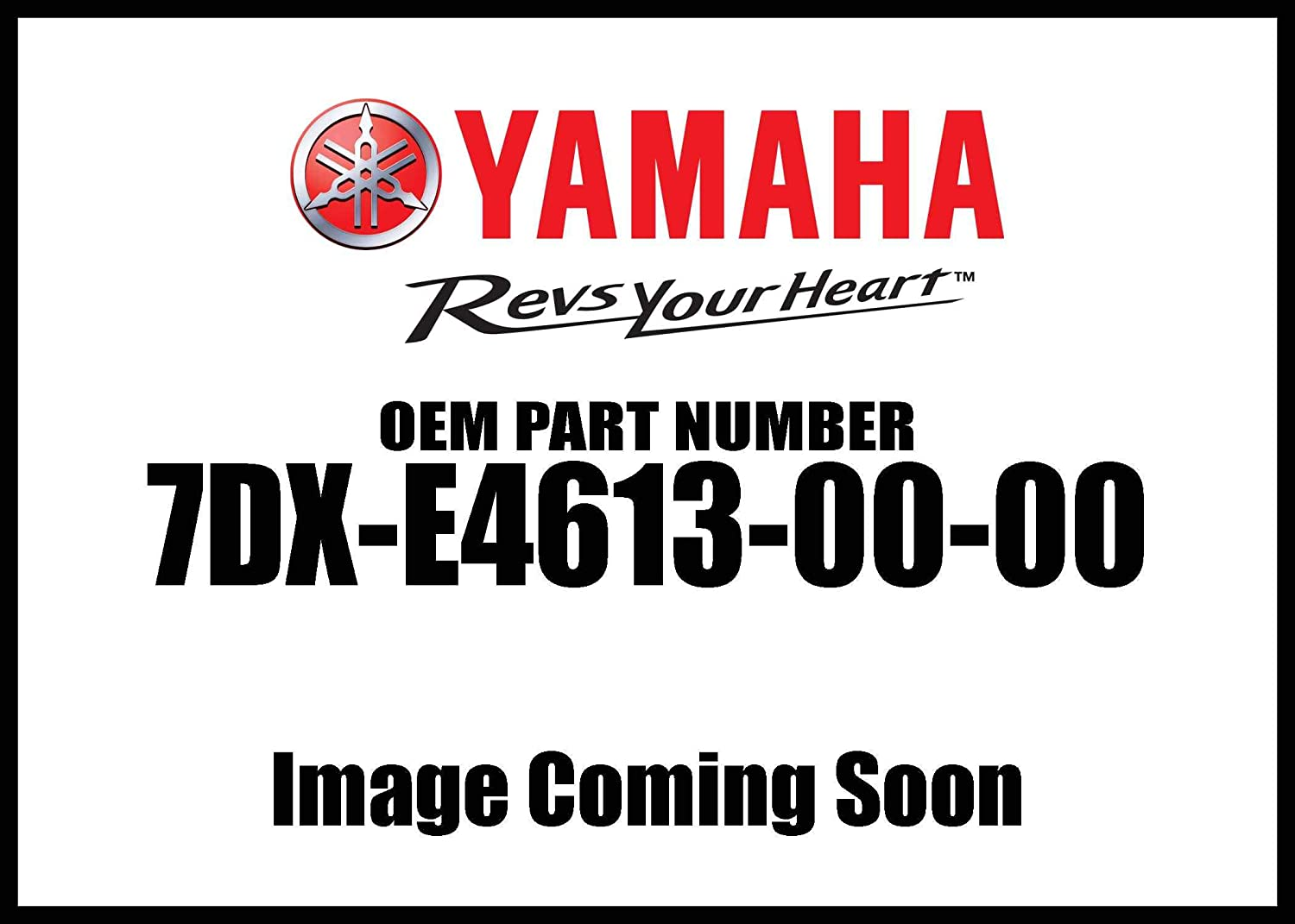 Exhaust Pipe; 7DXE46130000 Made by Yamaha Yamaha 7DX-E4613-00-00 Gasket