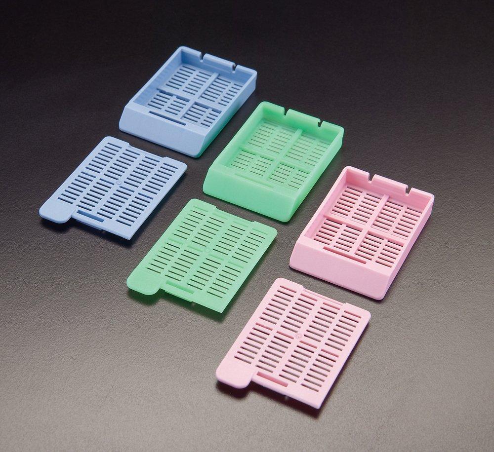 Simport Scientific Incorporated Acetal Pack of 1000 Simport Scientific M517-12 Swingsette Tissue Processing//Embedding Cassette Aqua Base and Lid Separately