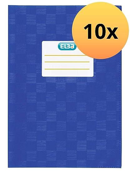 2 Stück Brunnen Hefthülle Bast DIN A4  Heftumschlag farbig sortiert Heftschoner