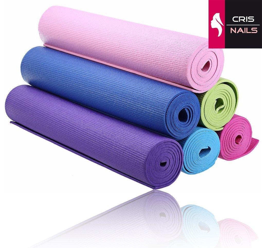 Crisnails® Esterilla Fitness de Ejercicio, Alfombra de Yoga ...