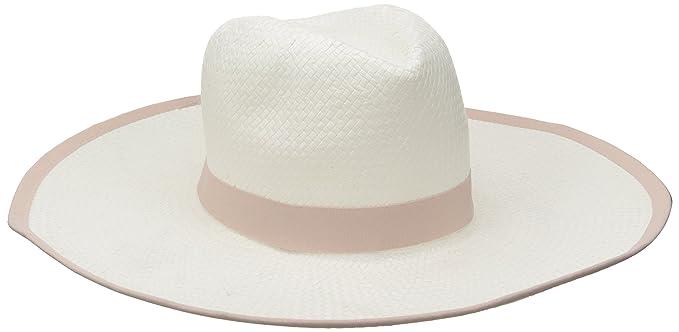 83b1660ddcc Amazon.com  BCBGMAXAZRIA Women s Ribbon Floppy Hat