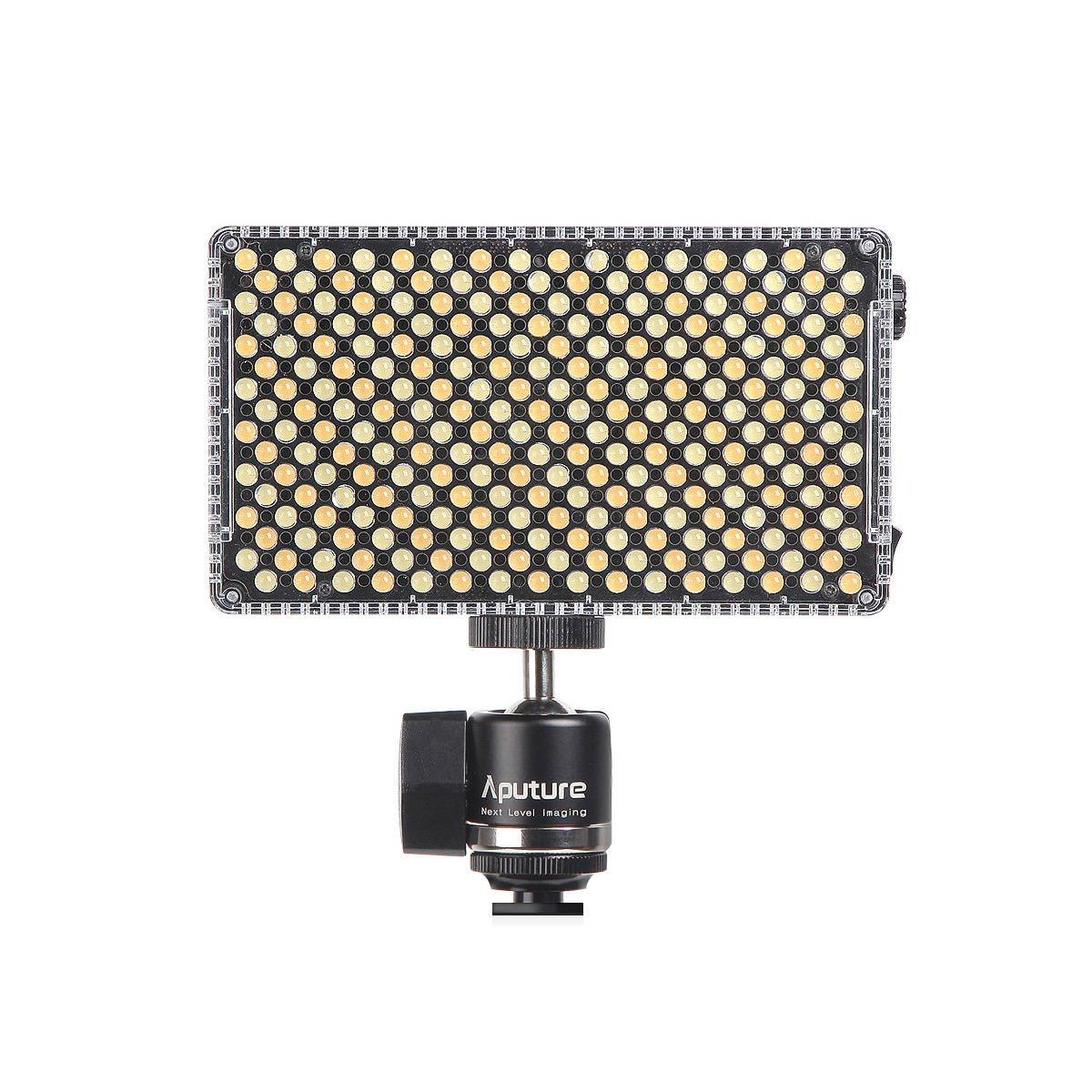 Aputure Amaran AL-F7 3200-9500K CRI/TLCI 95 LED panel LED video camera light (Aputure H198 Upgrade Version) Plus DigiKit Cleaning cloth