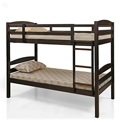 Royal Oak Costa Single Size Bunk Bed Brown Amazon In Home Kitchen