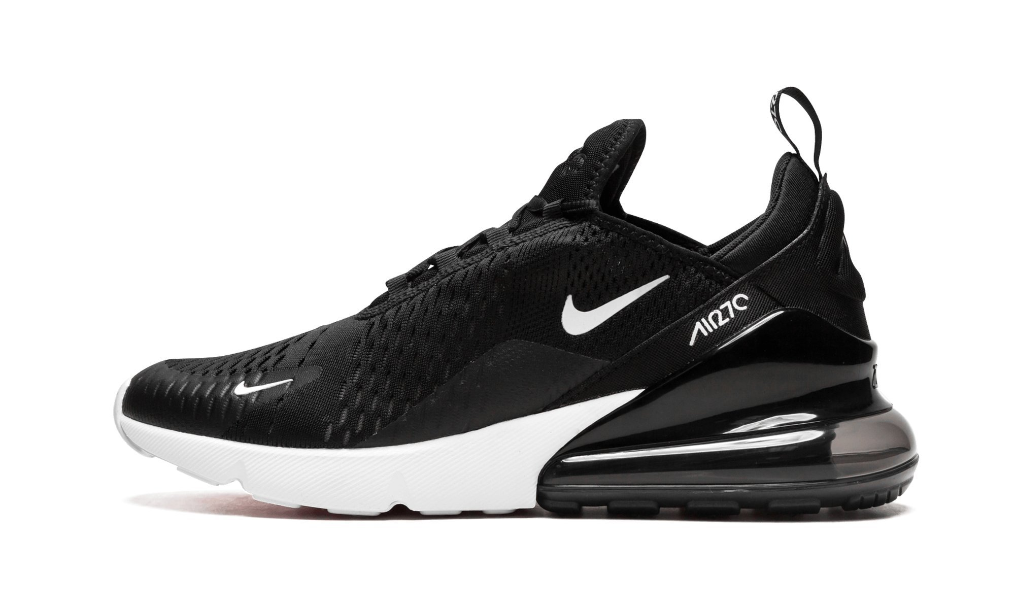 the best attitude 7040f 2b55a Galleon - Nike Mens Air Max 270 Running Shoes Black White Solar Red  Anthracite AH8050-002 Size 9.5