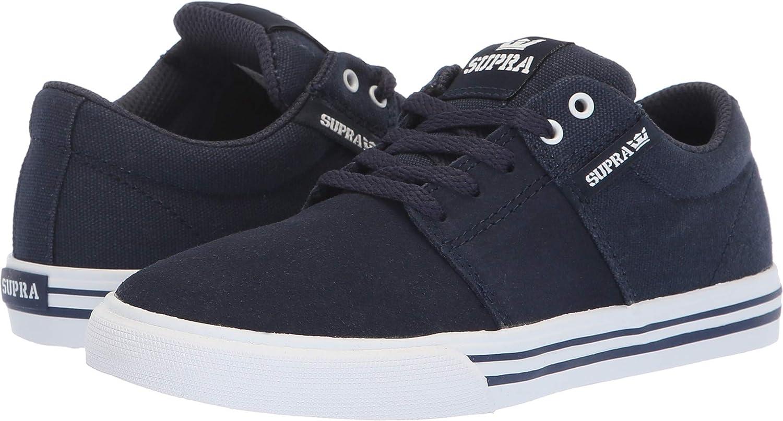 Amazon.com | Supra Boys Stacks Vulc Ii Ankle-High Skateboarding Shoe | Sneakers