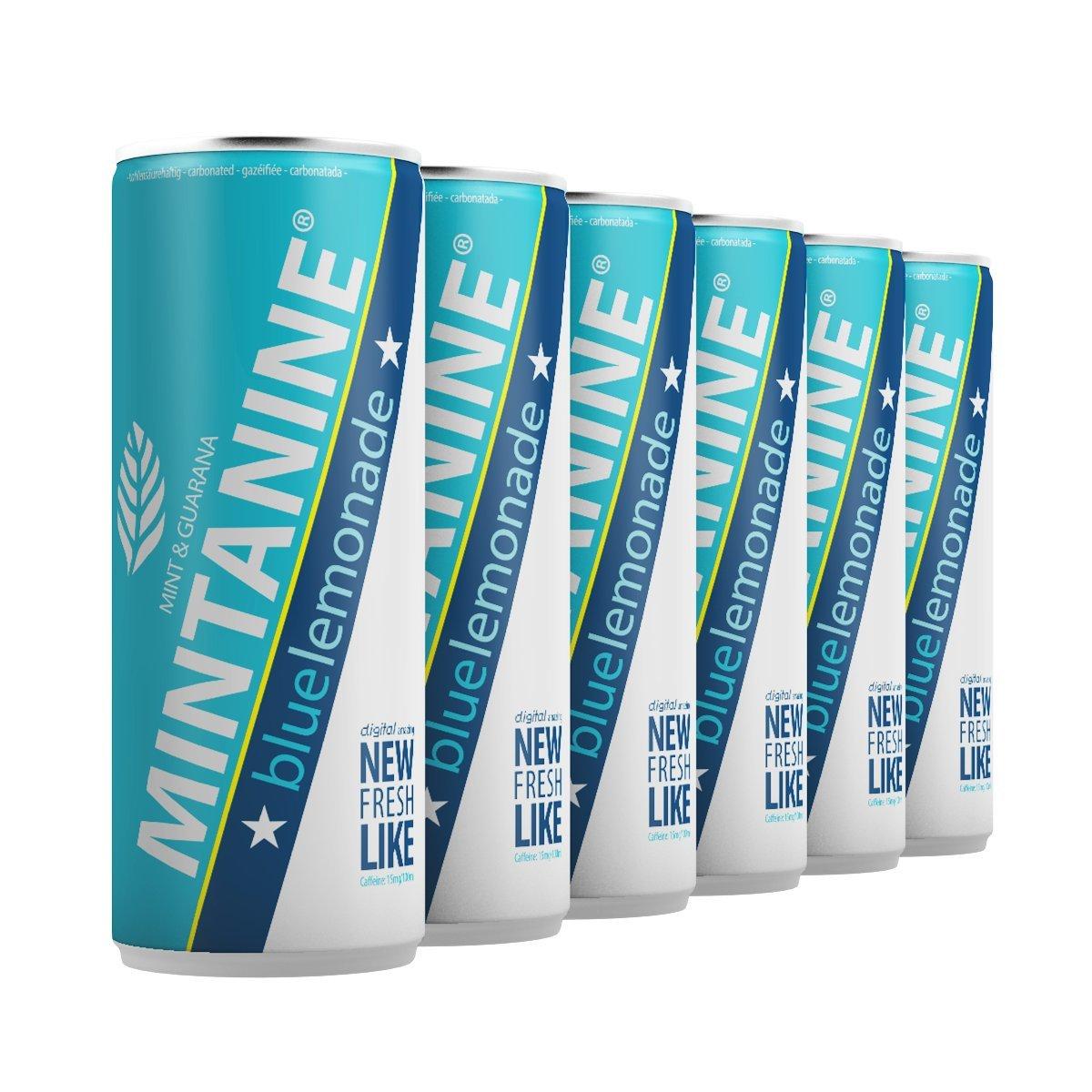 MINTANINE - blue lemonade (6 x 250ml - pfandfrei): Amazon.de ...