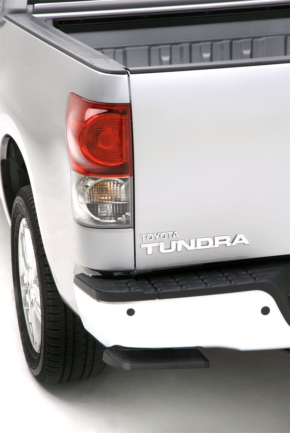 AMP Research 75305-01A BedStep Retractable Bumper Step for 2007-2013 Toyota Tundra by AMP Research