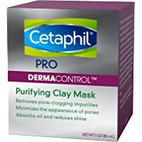 Cetaphil Pro Dermacontrol Purifying Clay Mask With Amazonian & Bentonite clay - for oily, sensitive Skin - dermatologist…