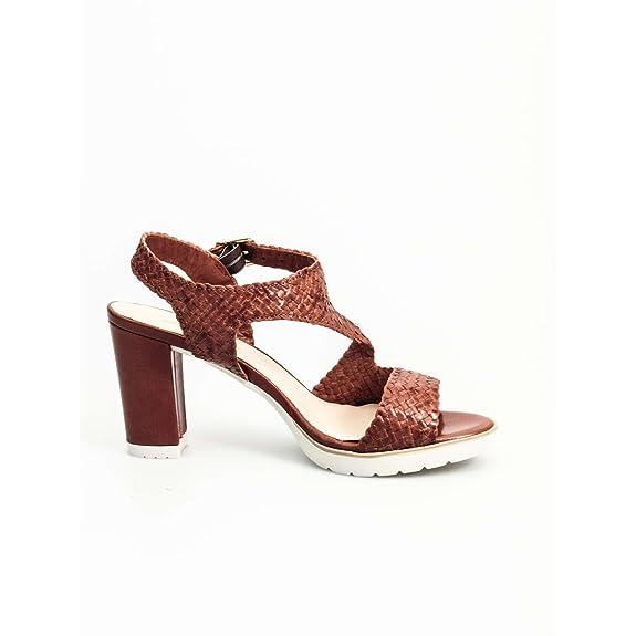 S757 Sandale Frau Leather 39 Melluso aNNegcq7