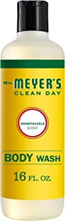 product image for Mrs. Meyer's Clean Day Moisturizing Body Wash, Cruelty Free and Biodegradable Formula, Honeysuckle Scent, 16 oz