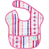 Bumkins SuperBib, Baby Bib, Waterproof, Washable, Stain and Odor Resistant, 6-24 Months – Ribbon