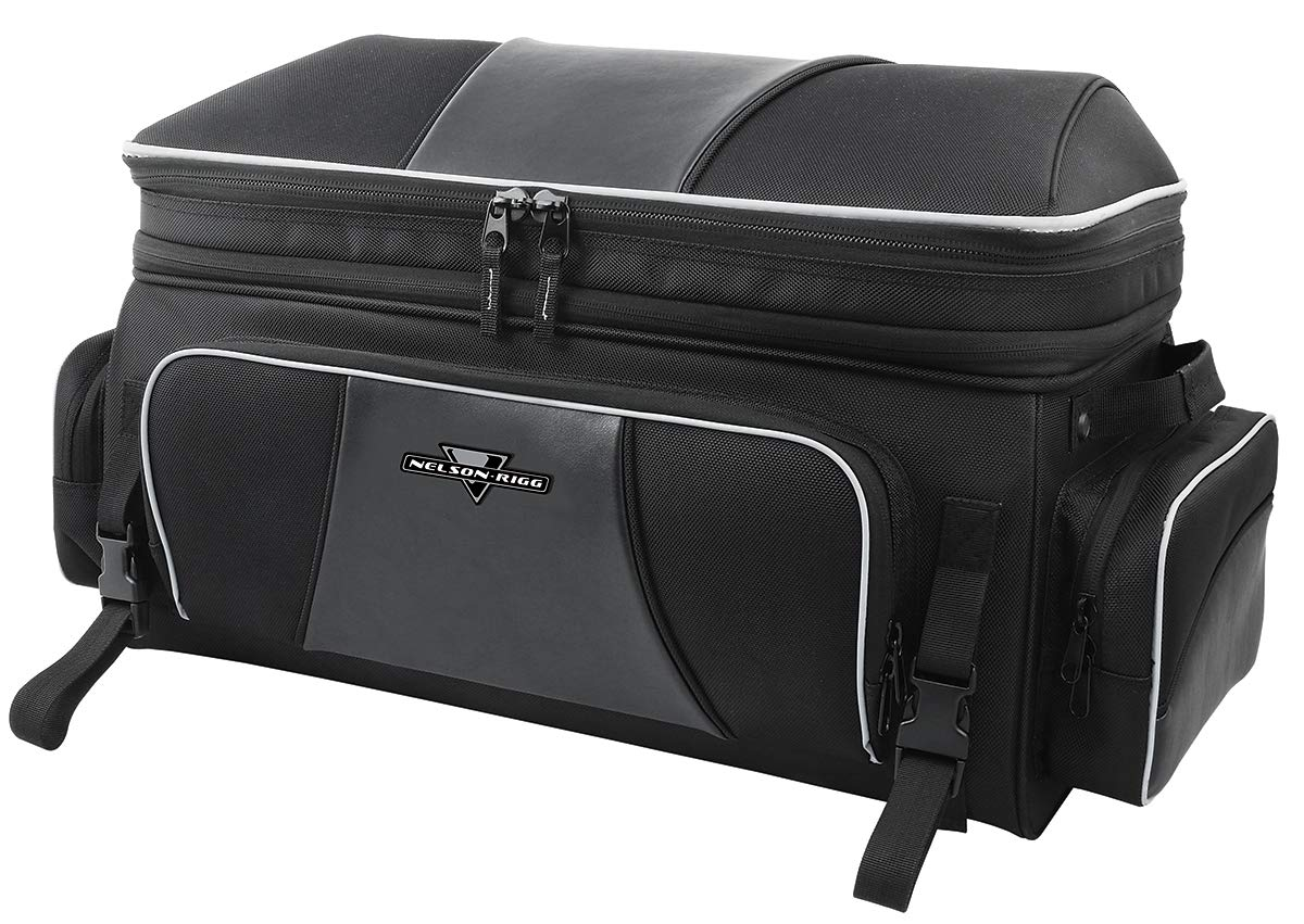 Nelson Rigg NR-300 Route 1 Traveler Tour Trunk Bag, Black Harley Davidson Ultra, Indian Roadmaster, Honda Gold Wing by Nelson Rigg