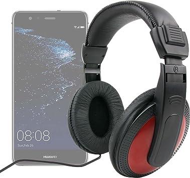 DURAGADGET Auriculares De Diadema para Smartphone Huawei P10 Plus, Huawei P10, Huawei P8 Lite (2017), Huawei Y6: Amazon.es: Electrónica