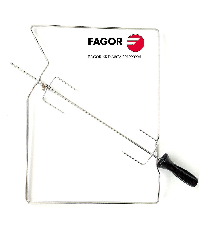 Fagor 6 KD - Asador rotativo (hornos Pirolíticos de 38 cm.) Válido ...