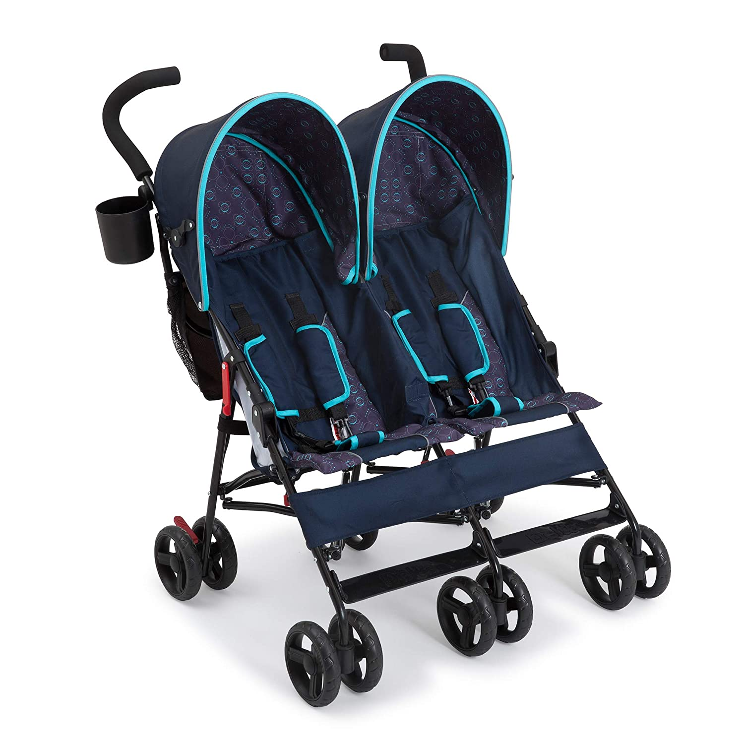 Delta Children LX Side by Side Stroller and Night Sky