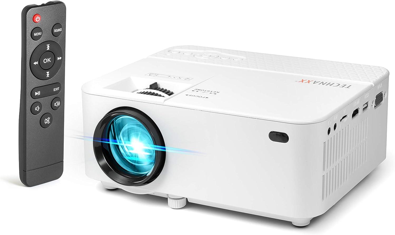 Technaxx TX-113 Mini LED Beamer Mini Proyector LED Portátil con ...