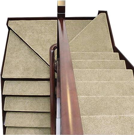 LBT Alfombras de Escalera Alfombra para Escalera Autoadhesivo Conjunto de 5 65x24cm Antideslizante Alfombra SetStep Antideslizante Protector de Piso Lavable casa Pura Alfombras par: Amazon.es: Hogar