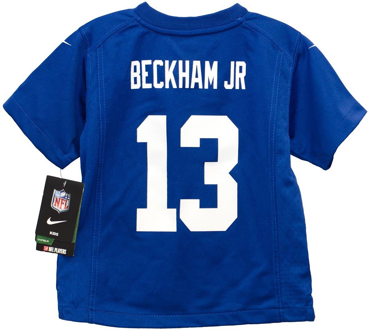 Amazon.com   Nike Odell Beckham Jr. New York Giants Blue Preschool Game  Jersey (Medium 5 6)   Sports   Outdoors 7bbd7c9e6