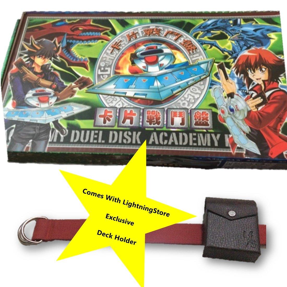 amazon com on sale lightningstore yugioh duel disk deck