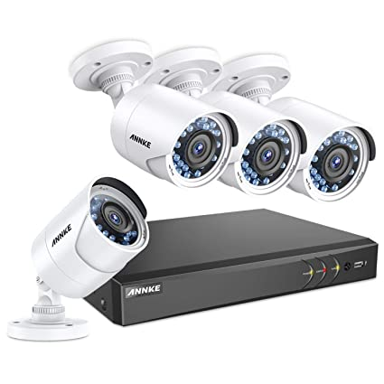 ANNKE 8+2CH 3 0MP 1920X1536 CCTV Security Systems and 4X 2 0MP