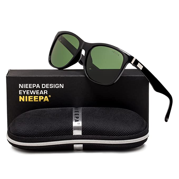 685148e36f53 Polarized Wayfarer Sunglasses Sports Travelling Retro Vintage Stylish  Square Driving Non Mirrored Fishing Shades UV 400