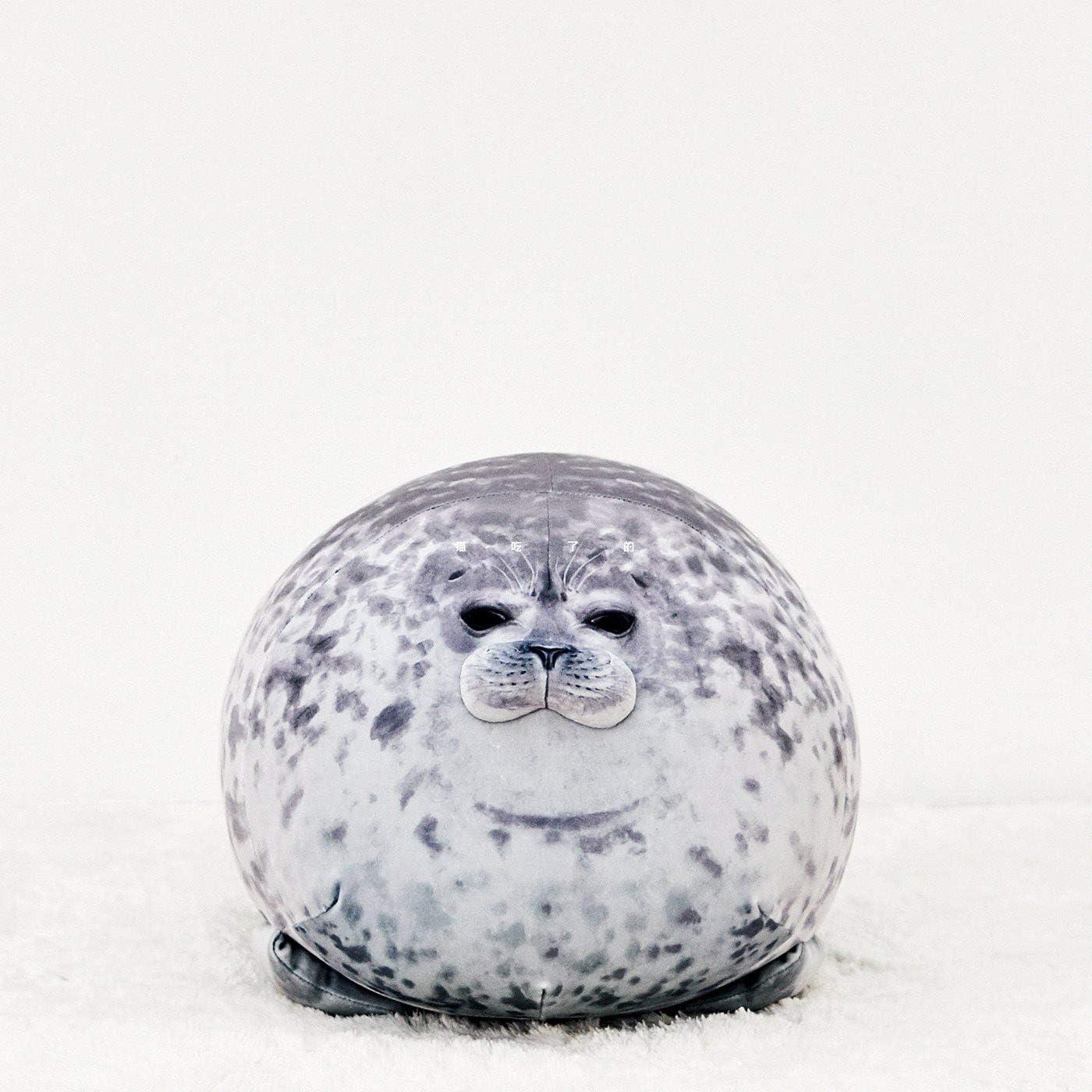 suxiaopei Cuscino di Tenuta Museo Haiyou Popolare Cuscino di foca Morbido Acquario Peluche Giocattolo 30cm0.2kg Sigillo