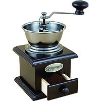 SAVANNAH SAV-8509 Classic Coffee Grinder, Antique Brown