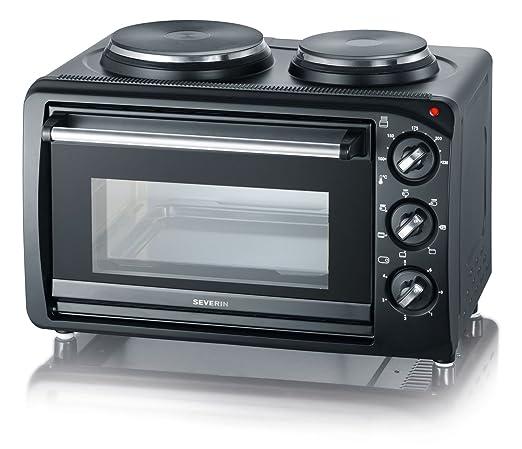 Severin KH 2044 - Mini cocina, 2 fuegos + horno, 2500 W: Amazon.es ...
