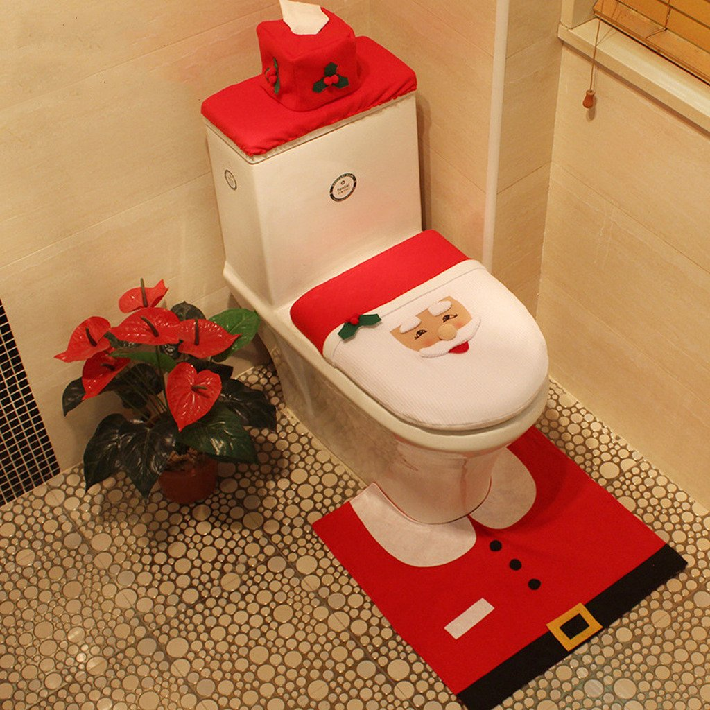 Amazon.de: Finerolls Decoration de Noel de Fete Sitzbezug de ...