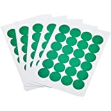 Amazon Basics Print/Write Self-Adhesive Removable Labels, 0.75 Inch Diameter, Green, 1008-Pack