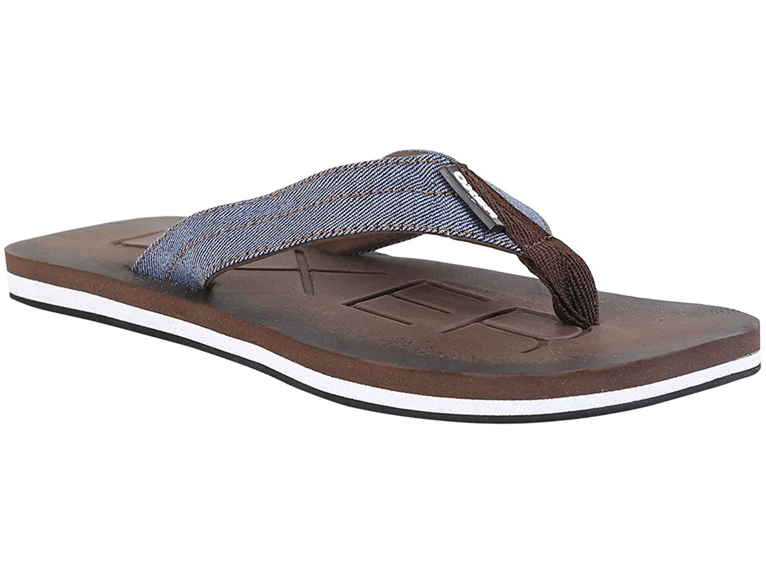 afa33fc14674 Ox Oxer Flip Flops Casual Slippers for Mens Style  RR-459-Browen ...