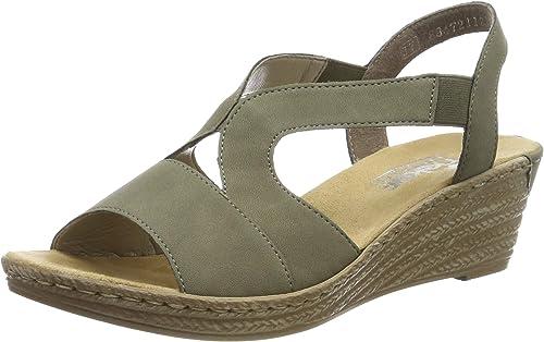 Rieker Damen 62429 54 Geschlossene Sandalen