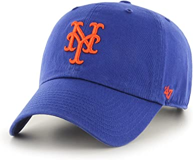 Gorra de béisbol Clean Up New York Mets de 47 Brand - Azul ...