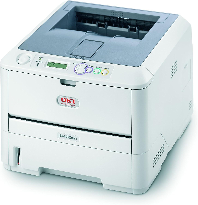 OKI B430dn - Impresora láser Blanco y Negro (A4, Ethernet, USB ...
