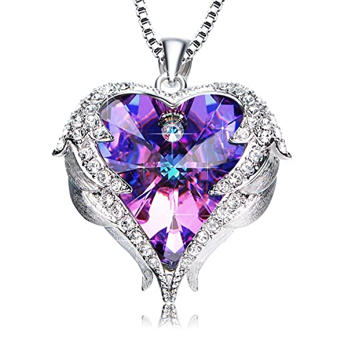 14k White Gold 9 Millimeters Simulated Birthstone Solitaire Pendant Necklace