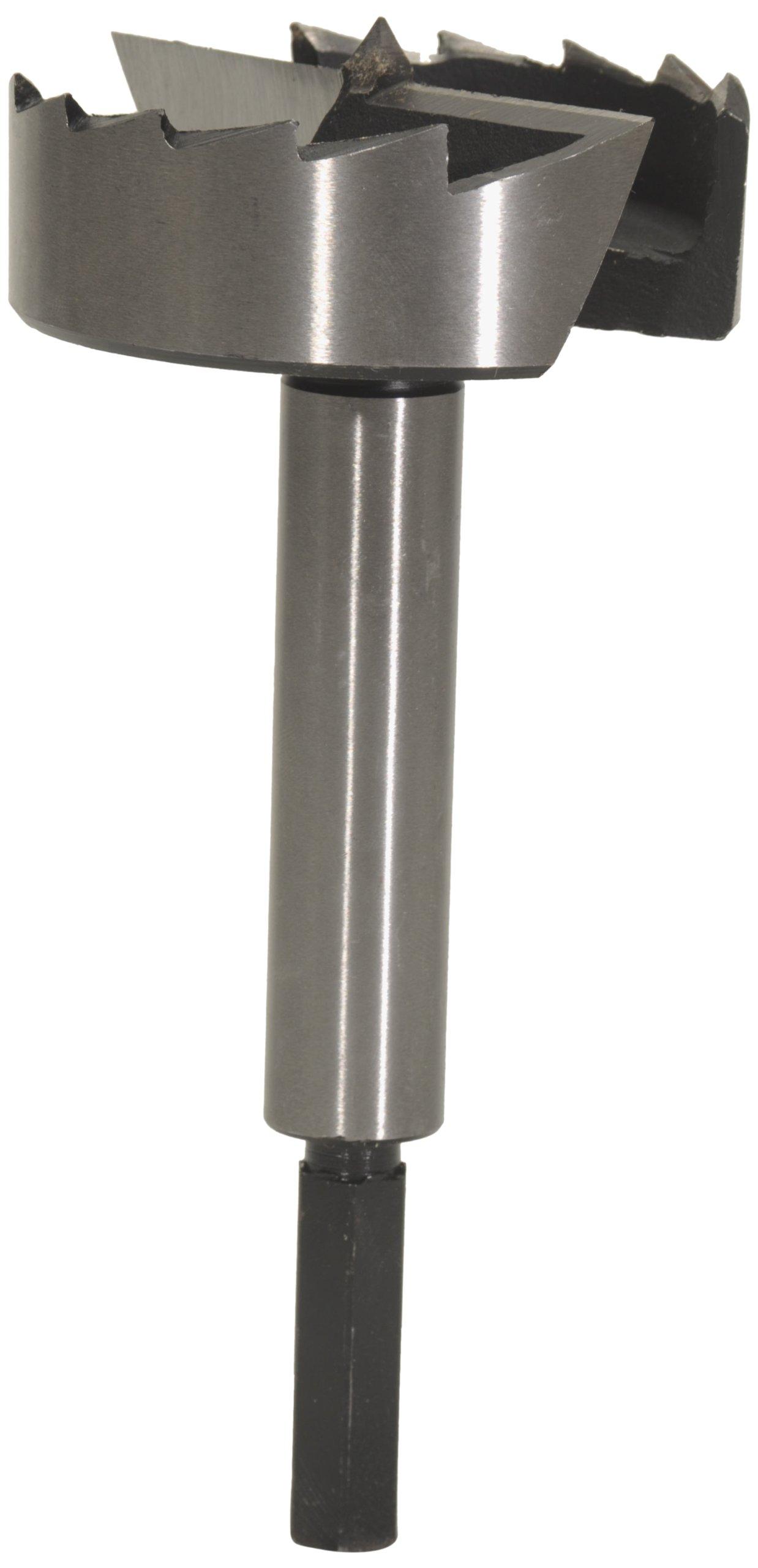 MLCS 9261H 4-Inch Diameter Steel Forstner Bit with Hex Shank by MLCS