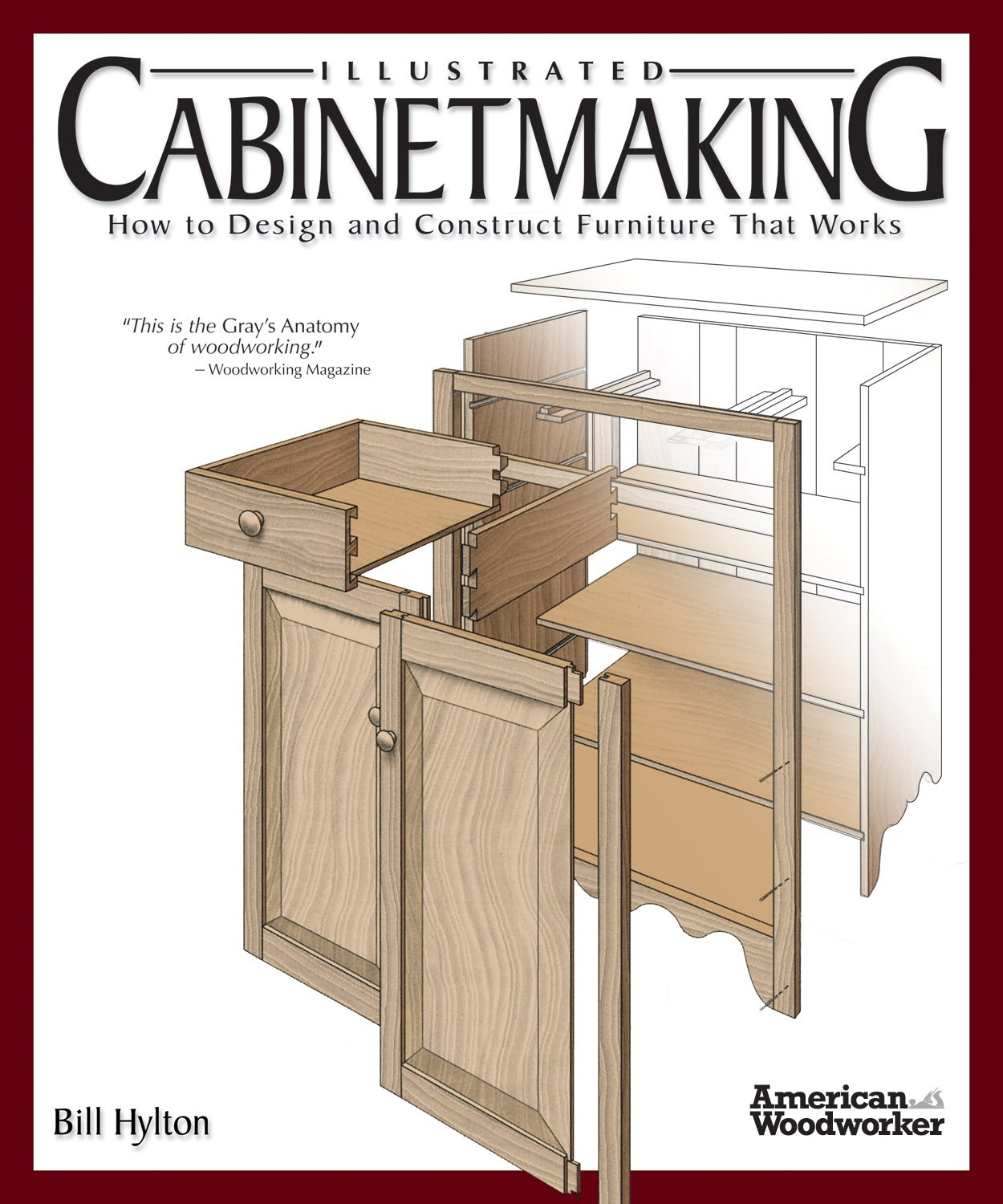 Illustrated Cabinetmaking Construct Furniture Woodworker