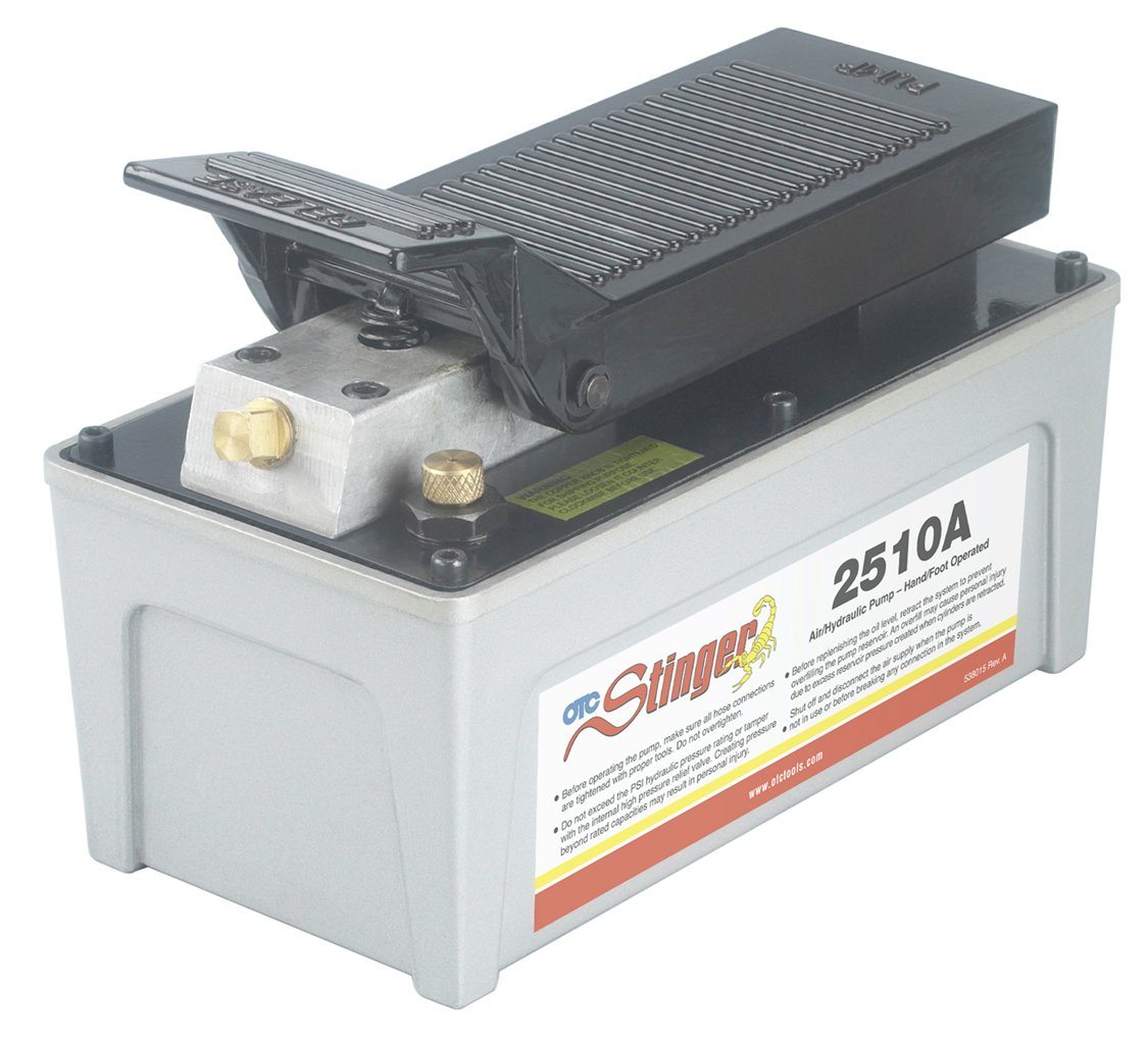 OTC 2510A Stinger Air/Hydraulic Pump by OTC