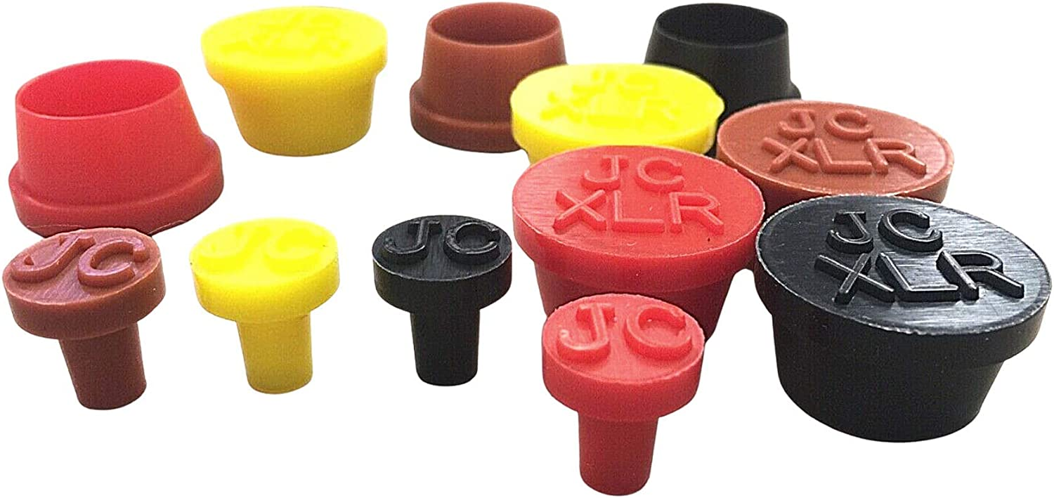 JACKCAP GIG READY 6.3mm 1//4in XLR Dust Plug Cover Audio Keyboard Mixer Midi JACK CAP 1//4in , Red JACKCAP Gig Ready fit 6.3mm