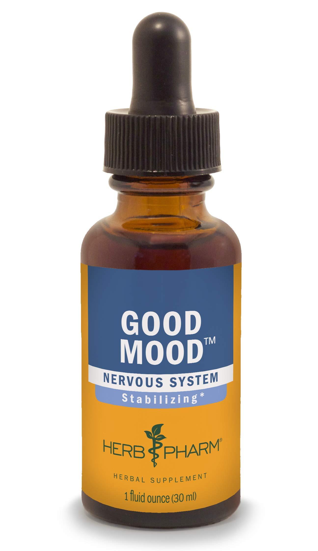Herb Pharm Good Mood Liquid Herbal Formula with St. John's Wort for Healthy Emotional Balance - 1 Ounce by Herb Pharm