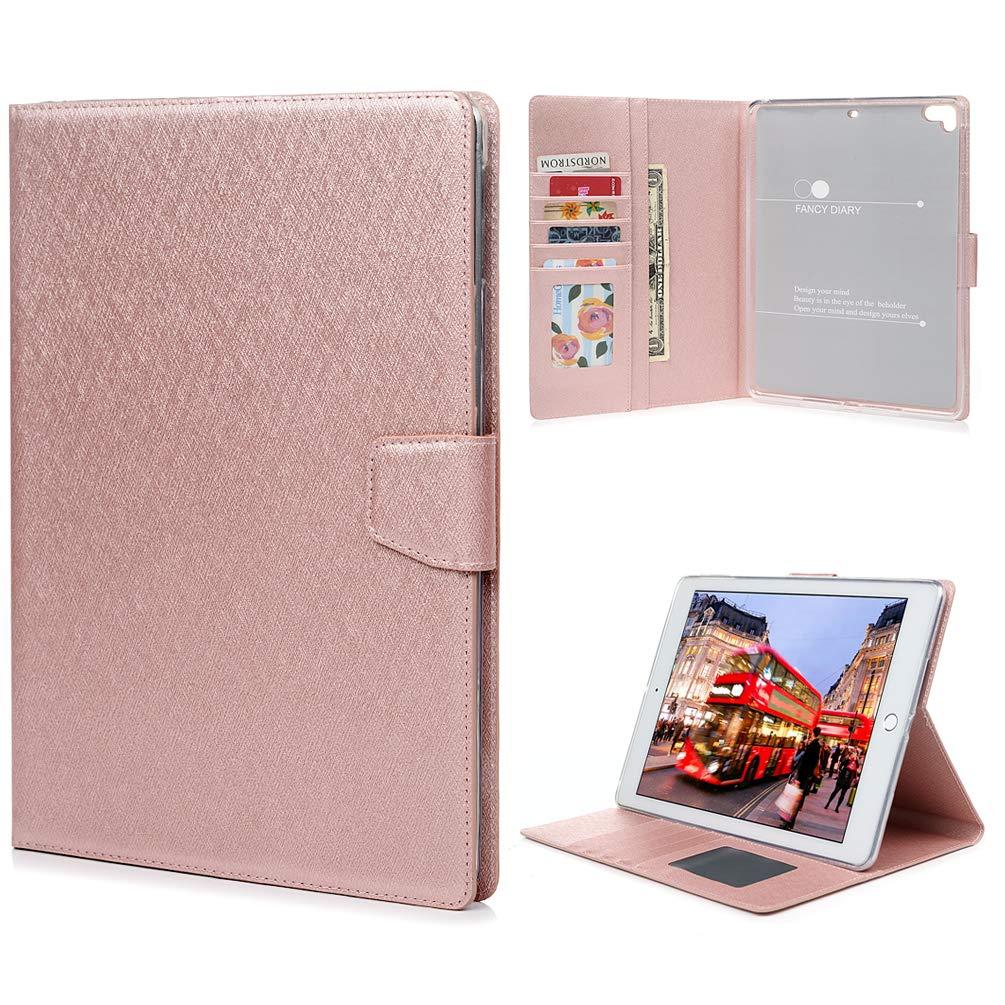 代引き人気 GEMYON iPad Air/iPad Air2 Air/iPad/iPad B07KYFGVJ9 Pro ケース 9.7インチ ケース [キックスタンド機能] フリップフォリオ PUレザー ウォレットケース ID&クレジットカードスロットポケット付き iPad Air/iPad Air2/iPad Pro 2017/2018用 GVS101647S-US ローズゴールド B07KYFGVJ9, 田浦町:8f9d4350 --- a0267596.xsph.ru