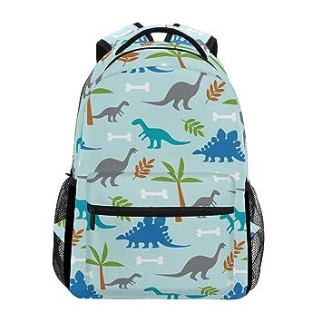 TIZORAX Dinosaurios Dion Mochila Escolar Estantería Senderismo Viaje Mochila: Amazon.es: Deportes y aire libre