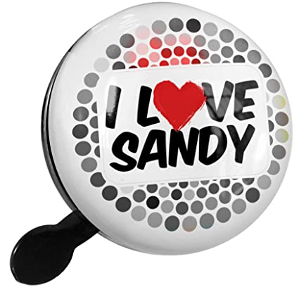 Amazon.com : NEONBLOND Bike Bell I Love Sandy Scooter or ...