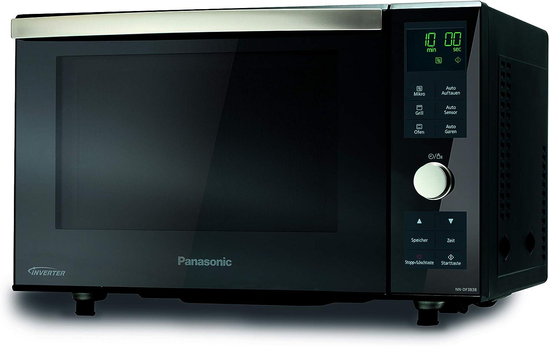 Panasonic NN-DF383B - Microondas (483 mm, 396 mm, 310 mm), color negro [Importado de Alemania]