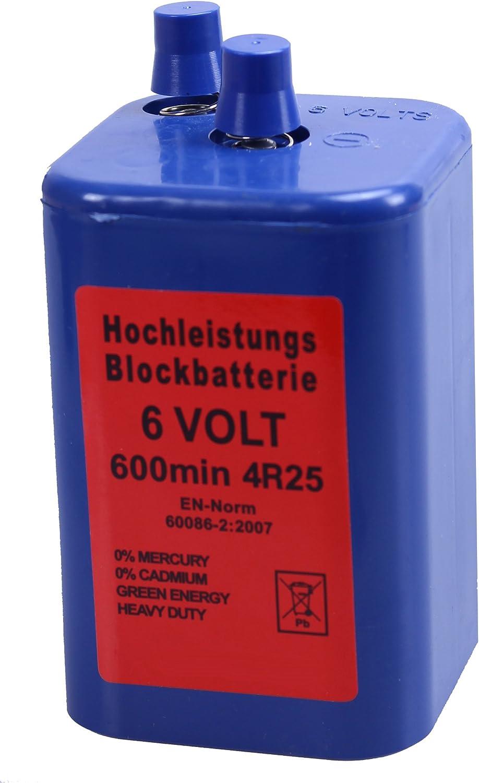 Bloc batterie haute performance 6 V 7 Ah 4R25