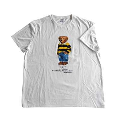 036077f35f705 Polo Ralph Lauren Mens Limited Polo Bear T-Shirt  Amazon.co.uk  Clothing