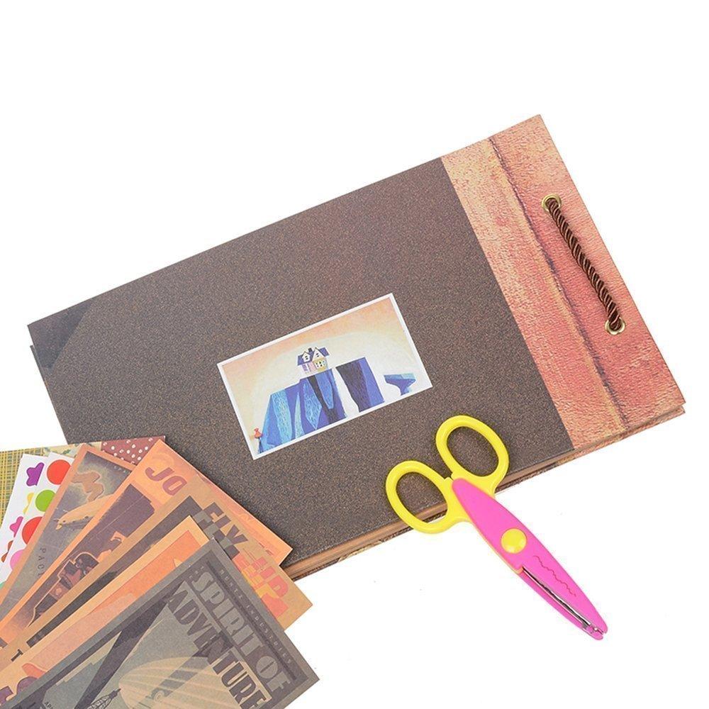 80 Seiten 29x19CM Harte Pappe Jahrestag Scrapbook Album Kit mit Scrapbook Zubeh/ör POOTACK Our Adventure Book G/ästebuch f/ür Valentinstag Hochzeit Geburtstag Jahrestag Weihnachten Geschenk 40 Blatt