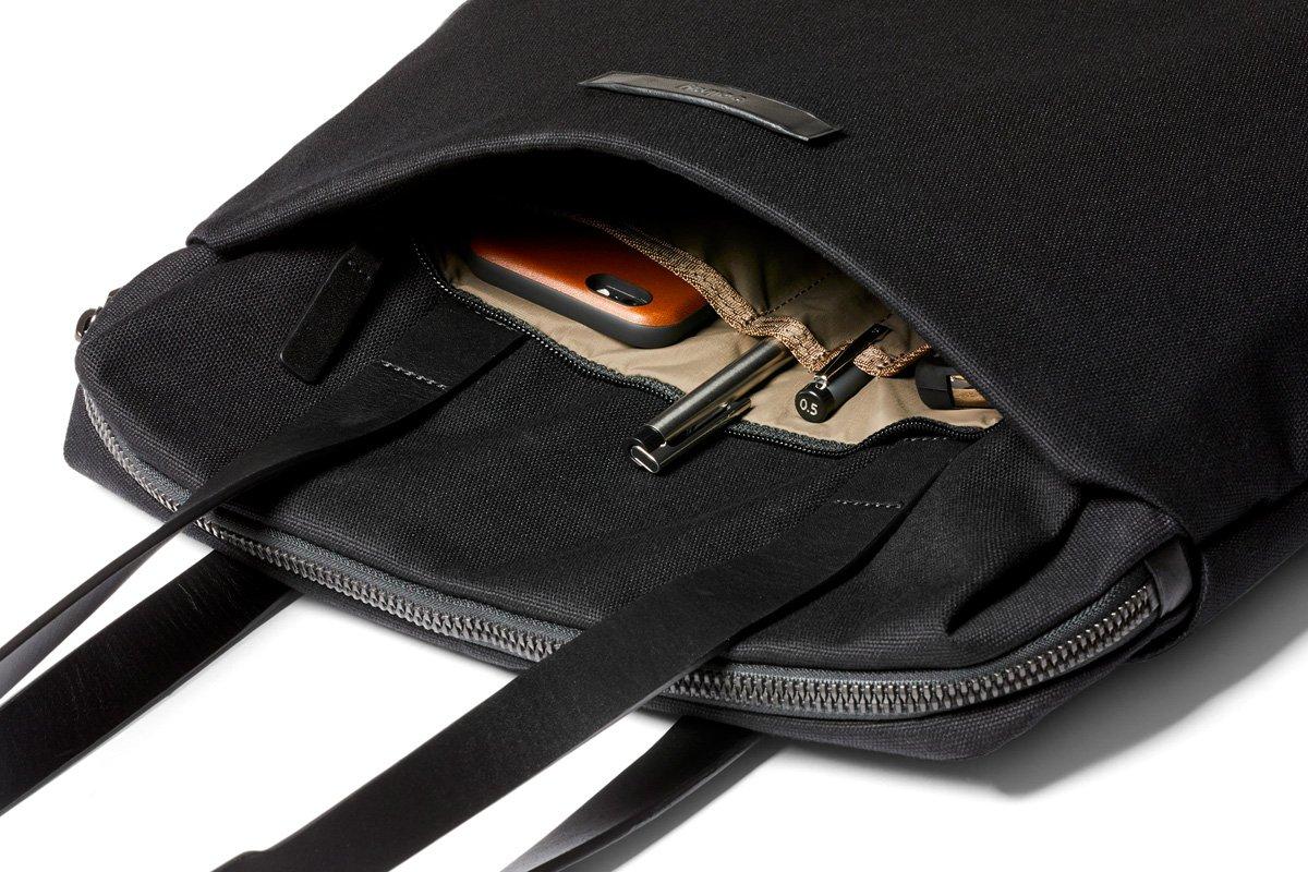 Bellroy Slim Work Tote (13 liters, 15'' laptop)-Black by Bellroy (Image #4)